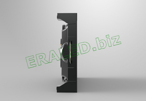 400×300×75mm Indoor Rental die casting aluminum cabinet