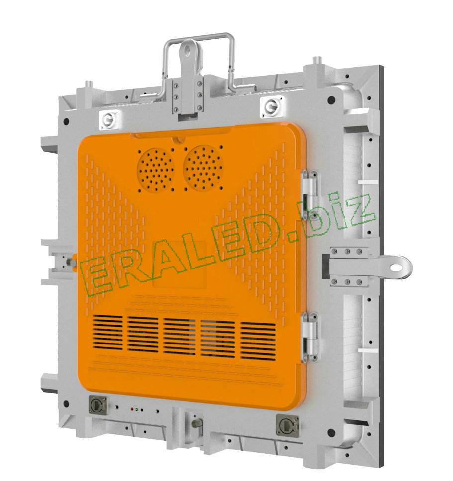 480×480×75mm Indoor Rental die casting aluminum cabinet