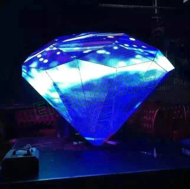 Diamond DJ stage LED display