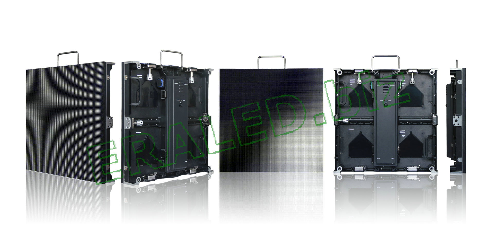 Outdoor Fixed UHD with Die-casting aluminum cabinet:P4.81 SMD2727,scanning method:1/13,52×52,500×500mm cabinet size