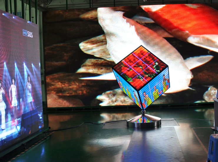 Cubic LED Display screen