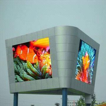 Double & Multi sided/face LED Display screen