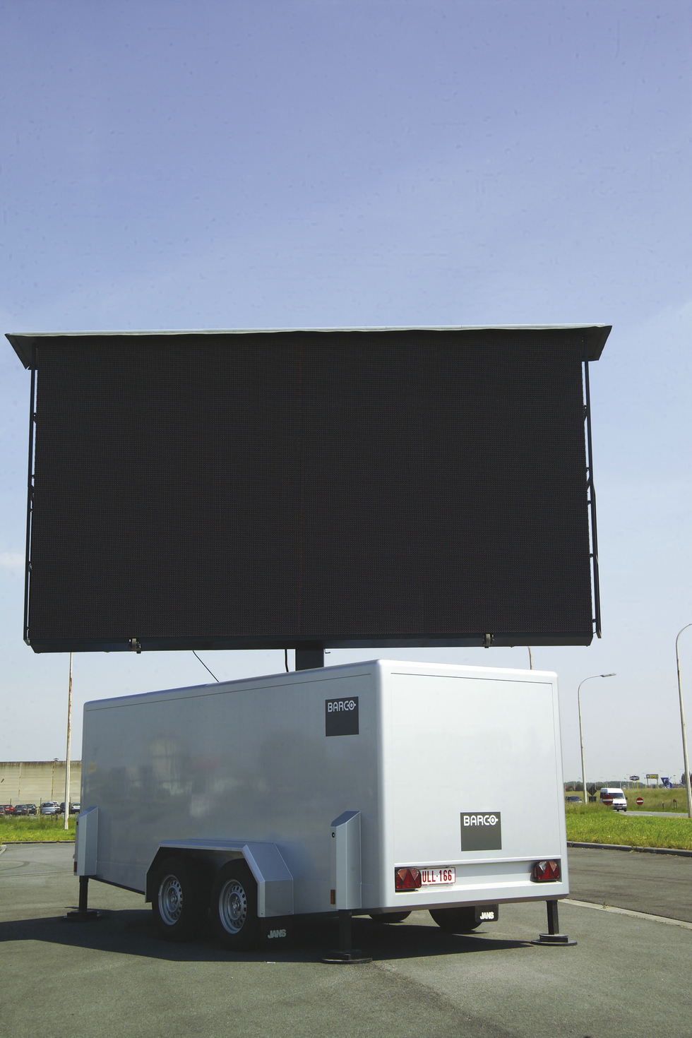 Mobile LED Display screen