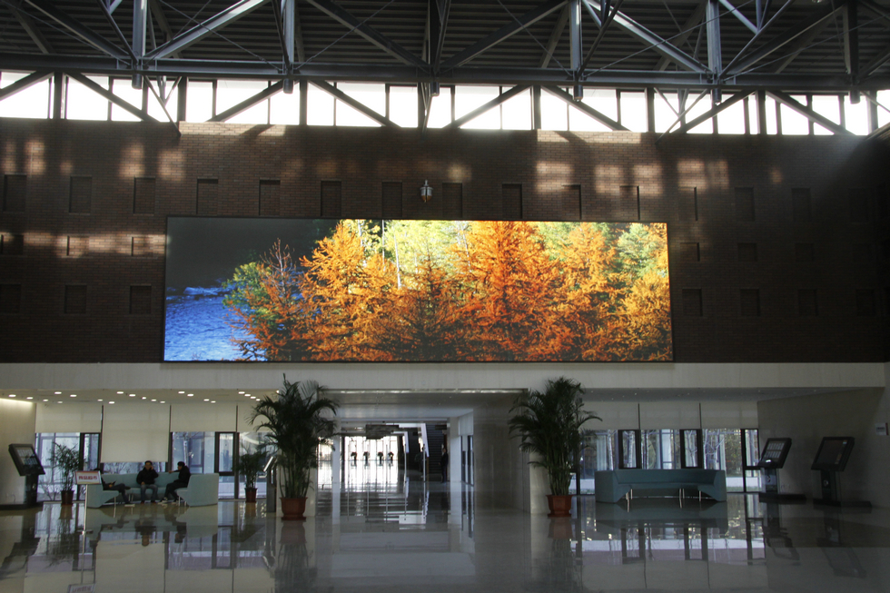Semi Outdoor LED Display screen
