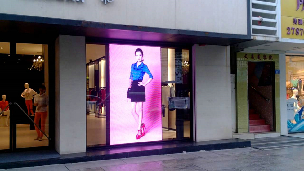 Shop Window LED Display screen