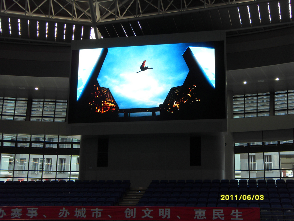 Swimming Sports Stadium LED Display screen